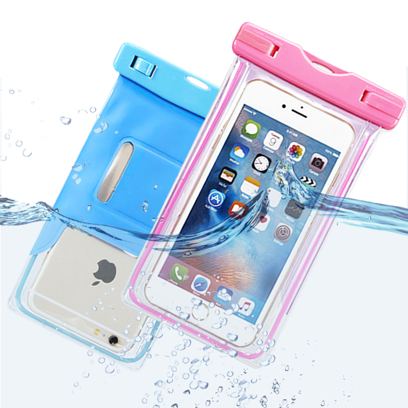 Water proof Bag Case For Huawei p9 p8 lite Honor 10 7a 8x 6 Mate 8 9 Waterproof Case Diving Dry Cover Waterproof Phone Bag Pouch