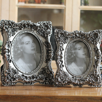 Hot Selling Newest SHENG KAISI / 6 7 European Antique Old Square Resin Photo Frame Home Deck Creative Photo Frame Home Decor
