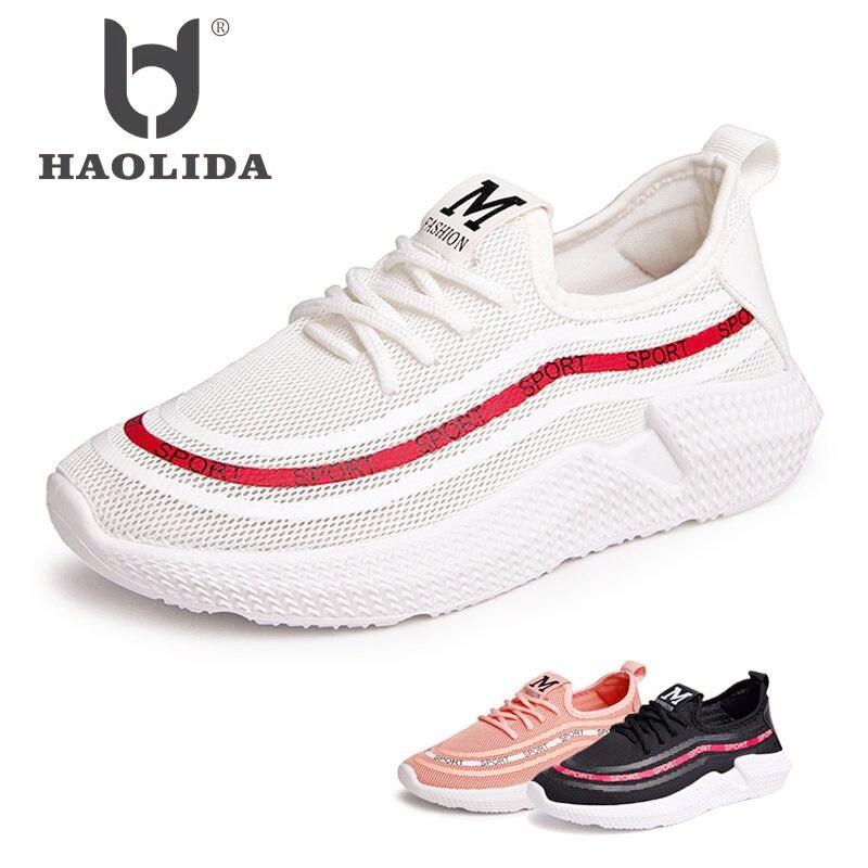 Shoes Women 2018 Spring Fashion Platform Sneakers Women Casual Shoes Ladies White Breathable Air Mesh Walking Shoes Femme Flats цена