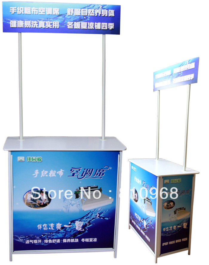 Shop Promotion Display Table, Advertising Display Table, Supermarket Promotion Table  (free printing your design) david booth display advertising an hour a day