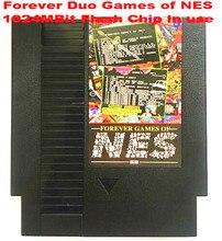 Навсегда DUO игры NES 852 в 1 (405 + 447) игры-картридж для NES консоли, всего 852 игры 1024 Мбит флэш-памяти в использовании