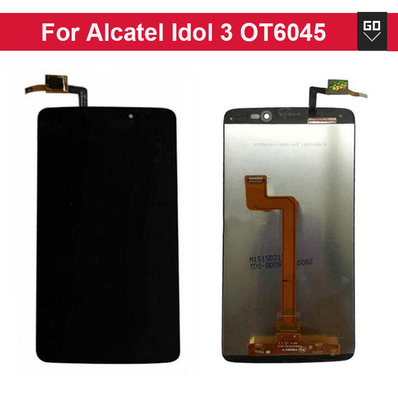 100 New 5 5 LCD font b Screen b font For Alcatel One font b Touch