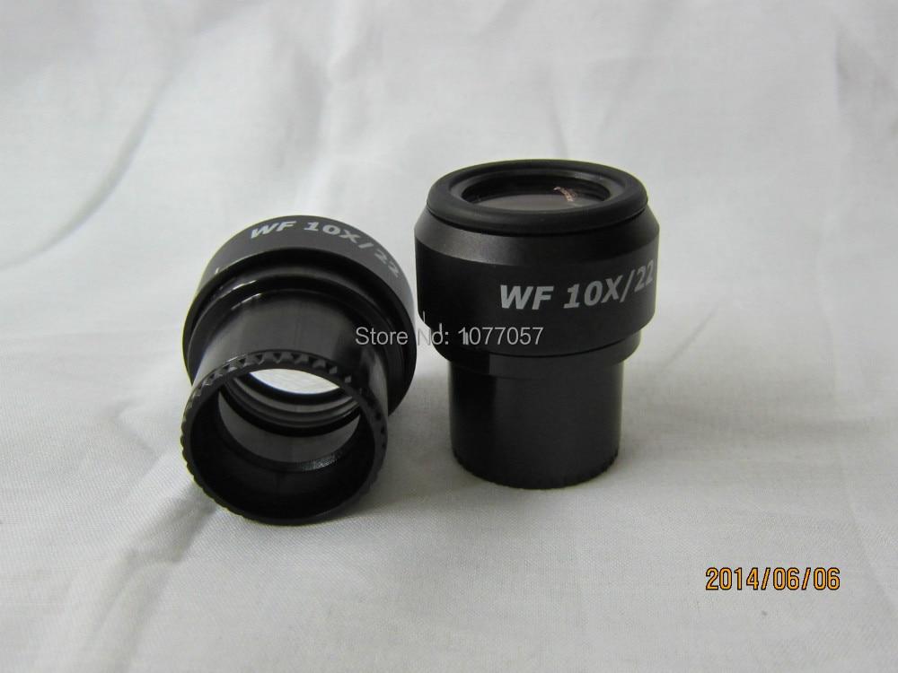 ФОТО Free shipping,Top quality,Super widefield WF10X-22mm Adjustable Stereo Eyepiece for Nikon , Olympus  Microscope W/30mmdia