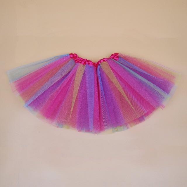 Baby Girls Tutu Skirt Fluffy Colorful Children Ballet Kids Baby Girl Skirts Princess Tulle Party Dance Skirts For Girls