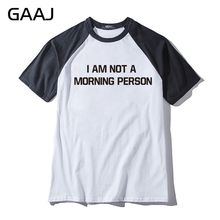 Compra Shirt Gratuito Not Disfruta I Del Am Person Y Envío Morning 0OPn8wk