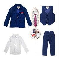 2 12Y Boys Suits For Weddings Kids Blazer Suit For Boy Costume KS 2008