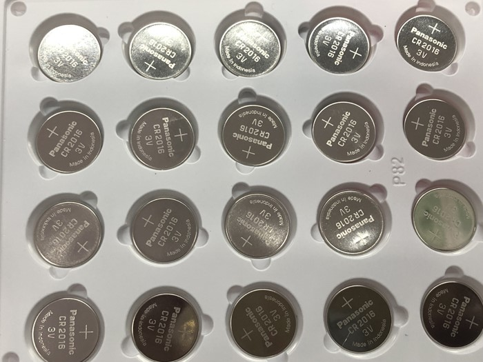 100pcs lot Panasonic Lithium Battery 3V Li ion CR2016 Button Battery Watch Coin Cell Batteries CR 2016 DL2016 ECR2016 GPCR in Button Cell Batteries from Consumer Electronics