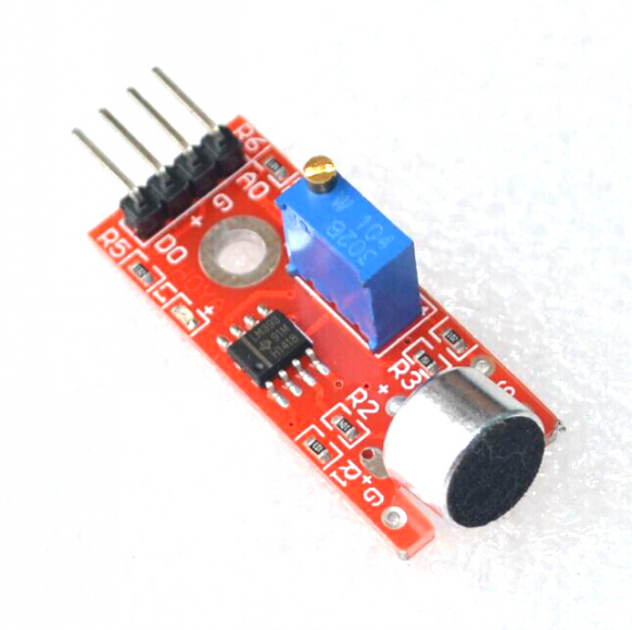 Wide Power Margin microphone sensor module KY-037 for ARDUINO ...