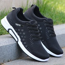 Men Casual Shoes Man Lace Up Sneakers Man Trainers Male Loafers Walking Cheap Sneakers Black Sneakers designer sneakers