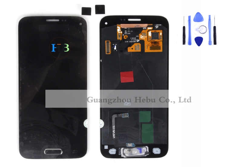 ФОТО Brand New LCD Touch Screen For Samsung Galaxy S5 Mini G800 G800F Display Lcd Touch Screen Digitizer Glass Free DHL 100pcs