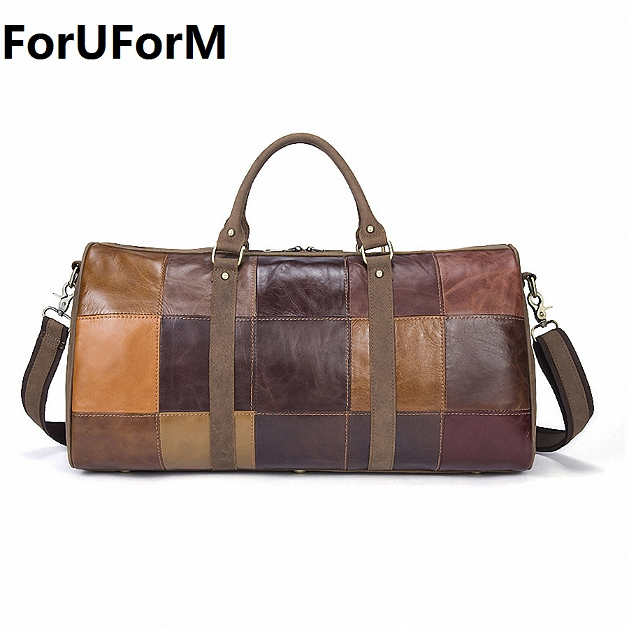 Popular Leather Weekend Bag-Buy Cheap Leather Weekend Bag lots ...