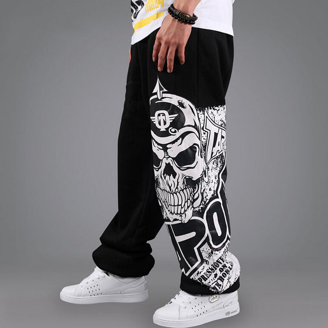 Baggy Pants Mens Casual Pants Hip Hop Street Dance Clothing Stylish Designer Loose Trousers Breathable Comfort 4122039