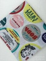 綿の布と綿テキスタイル印刷商標カーテン布工芸手作り布卸売布diy
