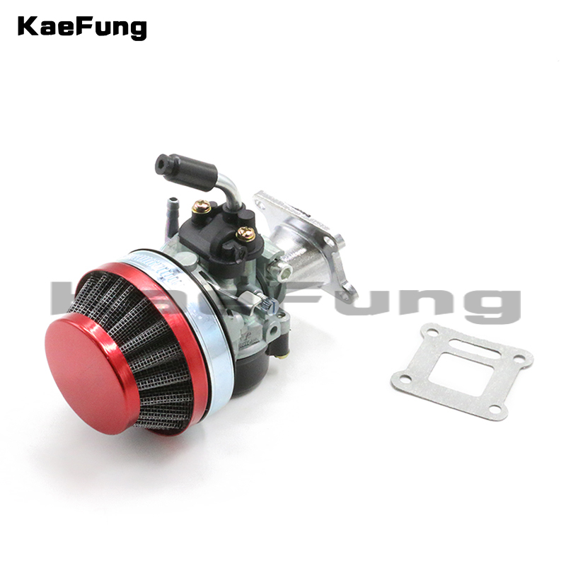 motorcycl dirt pit bike parts <font><b>2</b></font> stroke Performance Carburetor Carb Kit 47 cc 49 50 60 66 <font><b>80</b></font> Pocket Mini Bike image