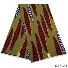 African wax printed fabrics veritable prints real nigeria wrappa ankara Africa java fabric polyester 1307-14