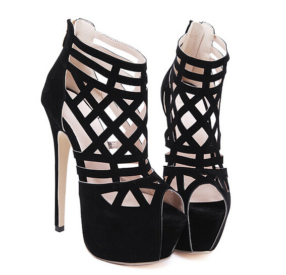 Zapatos negros sexy para mujer k3GpJDhB