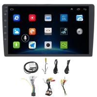 10.1 Inch Android 8.1 Car Bluetooth Wifi Gps Navigation Quad Core Radio Video Audio Multimedia Mp5 Player