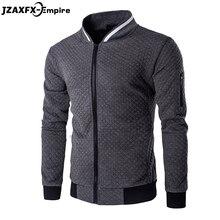 Men's Hoodies Zipper Design Mens Jacket Coat O Neck High Quality Mens Autumn Sweatshirt Brand-Clothing Hoodies men 2017 New