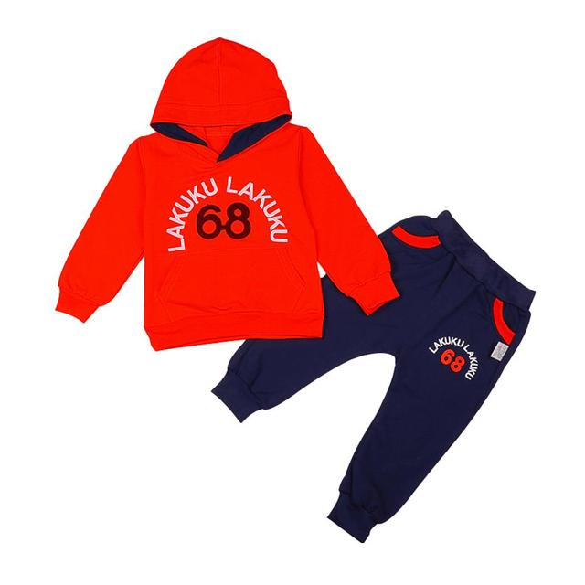 Children 2 - 6 Years Birthday Tracksuits Sport Hoodies Top + Pants 3