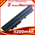 5200 MAH batería del ordenador portátil para adviento 4211 4211b 4211c 4489 BTY-S11 BTY-S12 MSI Wind U100 U135 negro