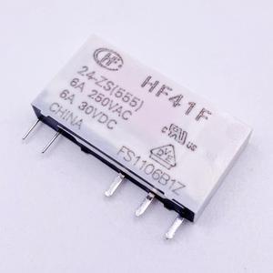 Image 5 - 41F HF41F Công Nghiệp Tiếp Subminiature Tiếp Điện HF41F 24 ZS HF41F 12 ZS HF41F 5 ZS HF41F 24V 12V 5V ZS 5PIN
