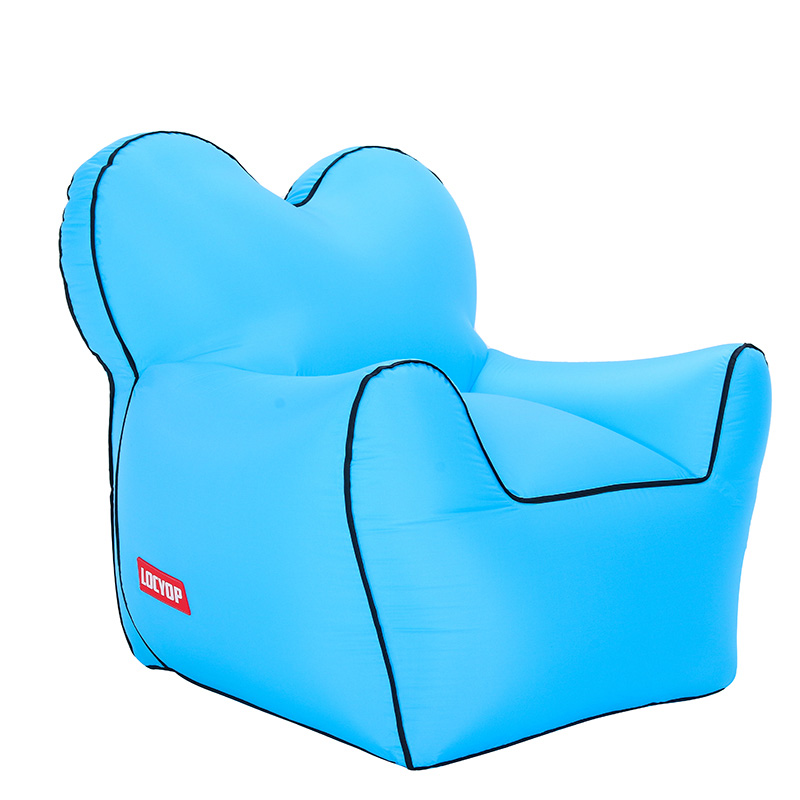 Sensational Us 55 79 38 Off Inflatable Bean Bag Outdoor Beach Chairs Beanbag Air Chair Waterproof Seat Sac In Beach Chairs From Furniture On Aliexpress Machost Co Dining Chair Design Ideas Machostcouk