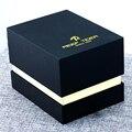Récif tigre noir étui d'emballage boîte-cadeau pour montre robe hommes femmes Rectangle forme boîte de montre originale