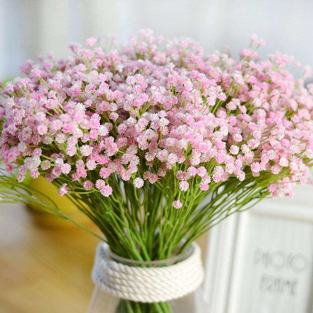 7 Bifurcation Bouquet Babysbreath Silk Artificial Flower Decoration