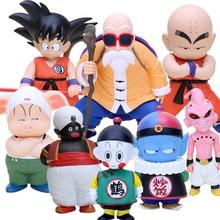 Dragon Ball Z фигурка Сон Гоку криллин Мастер Роши Улун Chiaotzu плов Буу мистер Попо фигурка игрушки модель куклы
