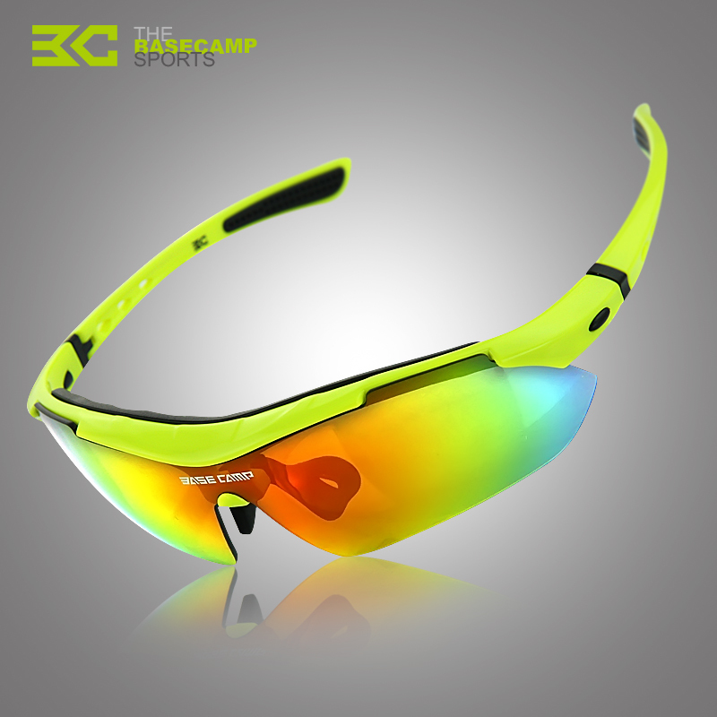 Basecamp 100 Brand New Space Technology TR90 Frame Cycling Sunglasses Polarized Ultralight Outdoor font b Sports