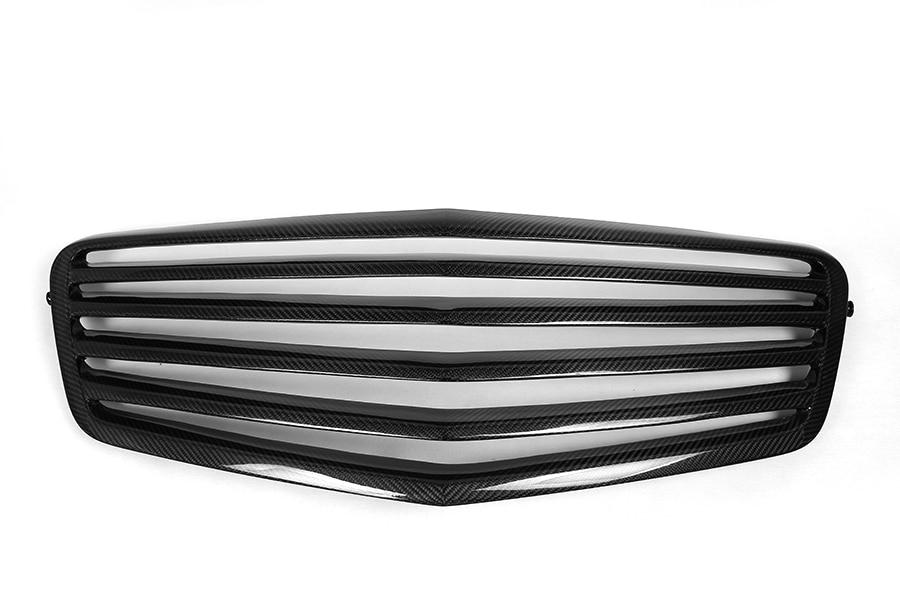 carbon fiber ag tech w212 facelift front bumper grille. Black Bedroom Furniture Sets. Home Design Ideas