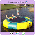 Free Shipping!Diameter 4m Jumping Trampoline,Inflatable Water Trampoline,Water Jumping Bed free a blower