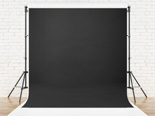 Kate 8x8ft Black Solid Color Photography Backdrop Abstract Backgrounds For Photo Studio Portraits Custom Camera Fotografica