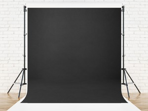 Image 2 - Vinylbds 8x8ft Zwart Effen Kleur Fotografie Achtergrond Abstracte Achtergronden Voor Fotostudio Portretten Custom Camera Fotografica