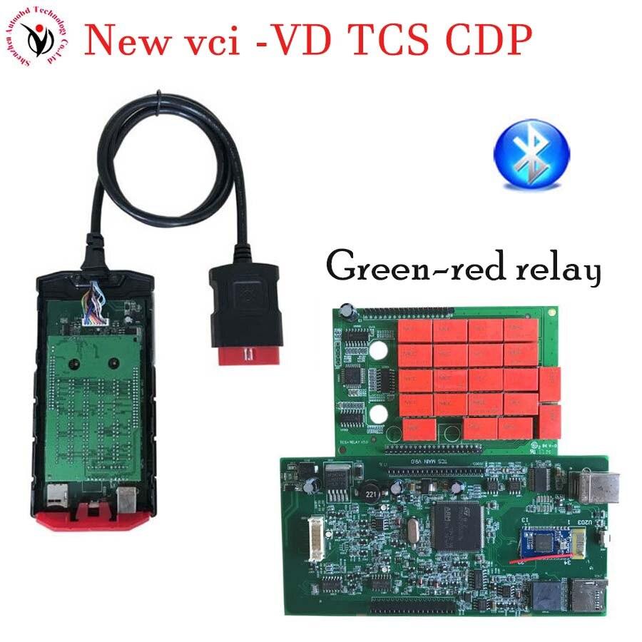 Vci v3.0 PCB. R3 Keygen/. R0+ активировать Bluetooth TCS CDP pro obd2 OBDII OBD II Автосканер автомобилей/грузовиков - Цвет: V9.0 BT