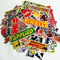 10XCar styling doodle brand stickers team Racing JDM ABT Sportling Anto Parts ARC MITISUBISHI METALTEK PJ1 Car-Styling Decal
