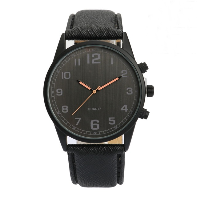 Mens fashion Watches Luxury Men Sport Wristwatch Leather men Watch brand quartz quality watches for men relogios femininos