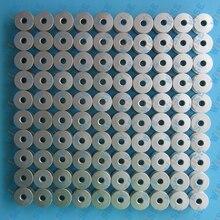 100 INDUSTRIAL SEWING MACHINE L SIZE ALUMINUM BOBBINS FOR REGULAR MACHINES 40264A 272152