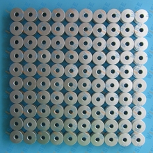100 INDUSTRIAL SEWING MACHINE L SIZE ALUMINUM BOBBINS FOR REGULAR MACHINES 40264A=272152