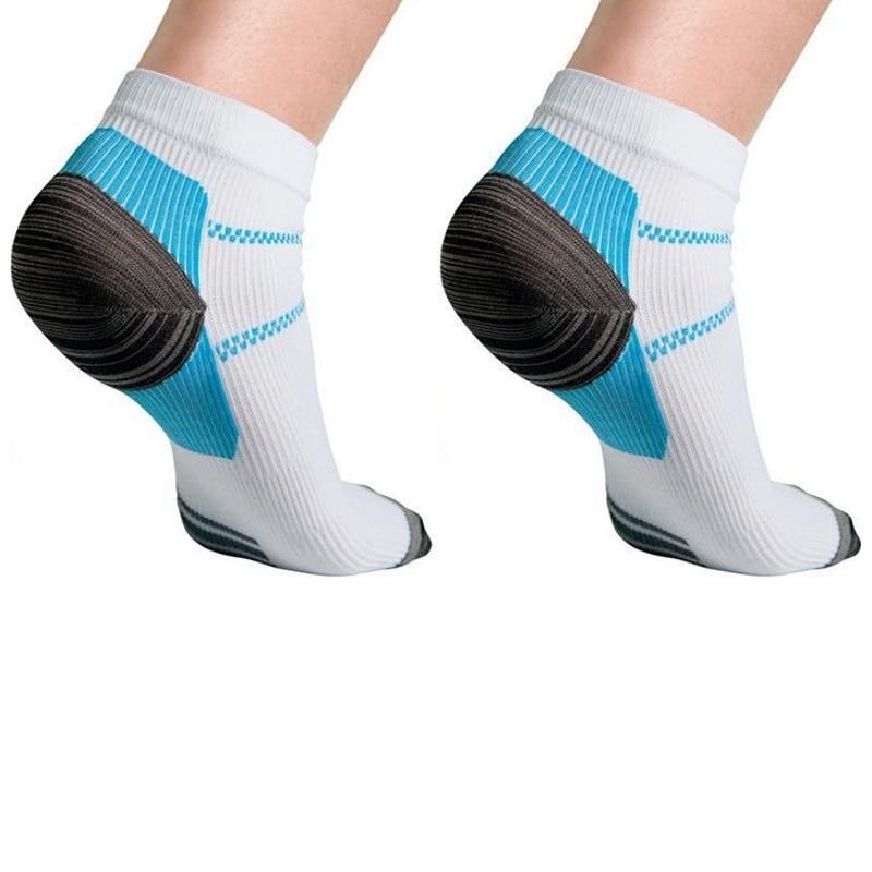 1pair =2 pcs Foot Compression Sock For Plantar Fasciitis Heel Spurs Pain Sport Sock FM0356