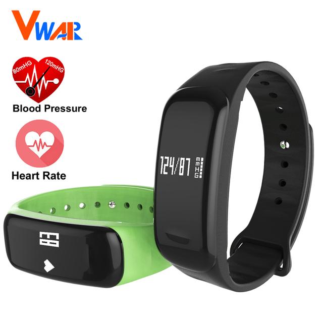 M8 de Presión Arterial Bluetooth Pulsera Inteligente de Ritmo Cardíaco Muñequera Rastreador de Ejercicios Para iOS Android Smartband Monitor de Oxígeno Arterial