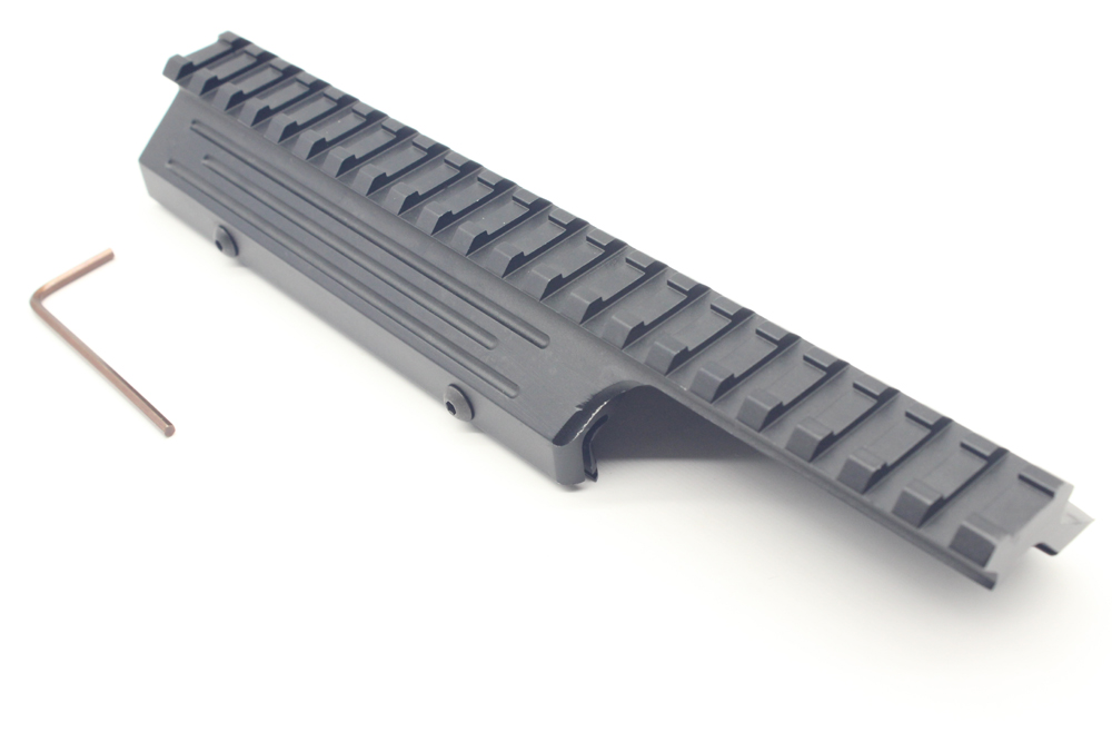 c6a8d25105aae TriRock New Tactical Handguard Picatinny Rail Scope Mount For FAL Black  Handguard Rail Mount Free Shipping