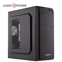 LOGIC POWER desktop computer case New Arrivals,80mm fan, CD-ROMx2,HDDx2,SSDx2 PCIx7, USBx2,AUDIO In / Out #5213