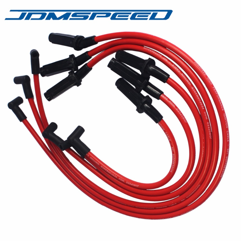 US $58.99 |Free Shipping JDMSD Performance Red 10.5mm Ignition Spark on