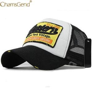 Chamsgend Baseball Caps Women Men Summer Snapback Mesh Hat e096e007e75d