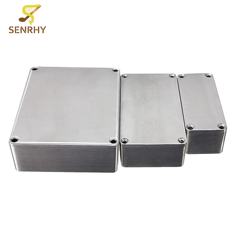 1590 Series 1590A 1590B 159BB Style Aluminum Case Stomp Box Effects Pedal Enclosure Guitar Effects Pedal Guitar Accessories 1590 series aluminium stomp case enclosure guitar effect pedal