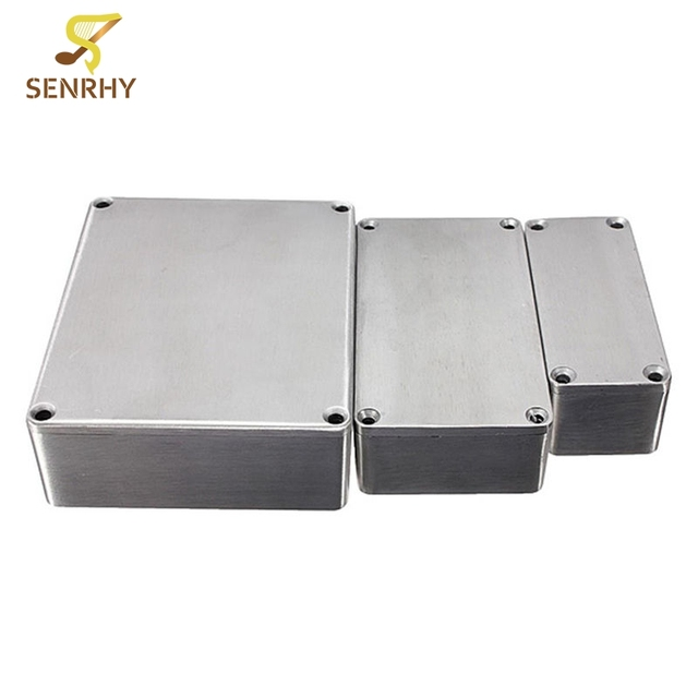f27ff27a13 1590 Series 1590A 1590B 159BB Style Aluminum Case Stomp Box Effects Pedal  Enclosure Guitar Effects Pedal