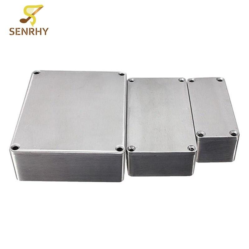1590 Series 1590A 1590B 159BB Style Aluminum Case Stomp Box Effects Pedal Enclosure Guit ...