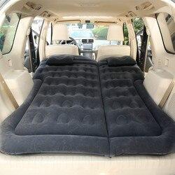 Надувная кровать для путешествий и кемпинга, матрас на заднем сиденье автомобиля для внедорожников для взрослых детей с электрическим возд...