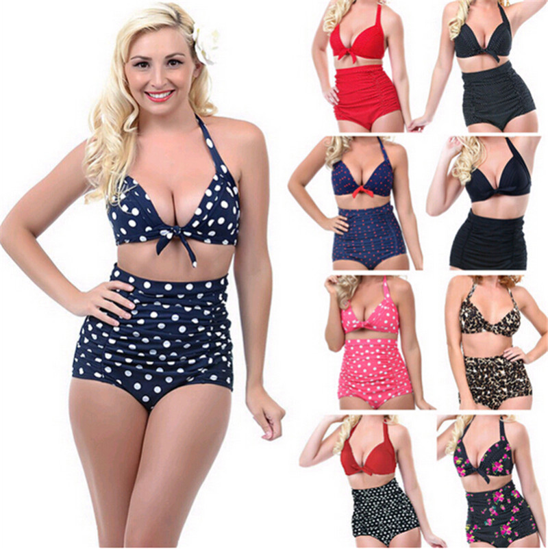 Swimwear | Vintage-inspired Swimsuit and High Waist Bikini Collection Joanie's new vintage-inspired swimwear collection is here! With vintage-style 50s and 60s inspired shapes like high-waisted brief bikinis and quirky printed one piece swimsuits which are perfect for a summer holiday.